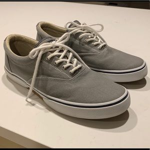 Sperry Topsider Canvas Sneaker Boat Shoes 11
